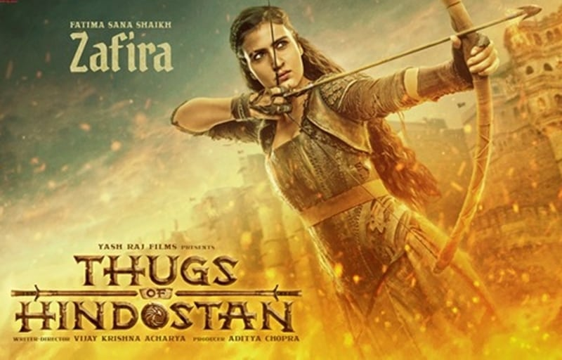 Fatima Sana shaikhs Warrior Thug Zafira Avtar in Thugs Of Hindostan will Leave You Spellbound