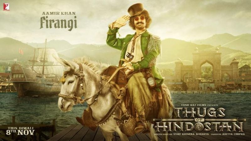 Thugs Of Hindostan: Amir Khan Reveals His Firangi Look