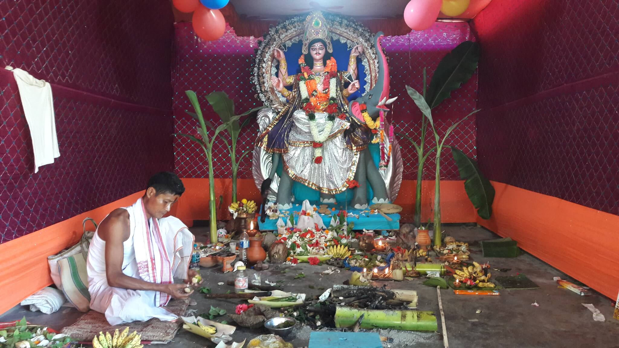 Vishwakarma Puja Celebrated with Pomp and Grandeur Across Assam