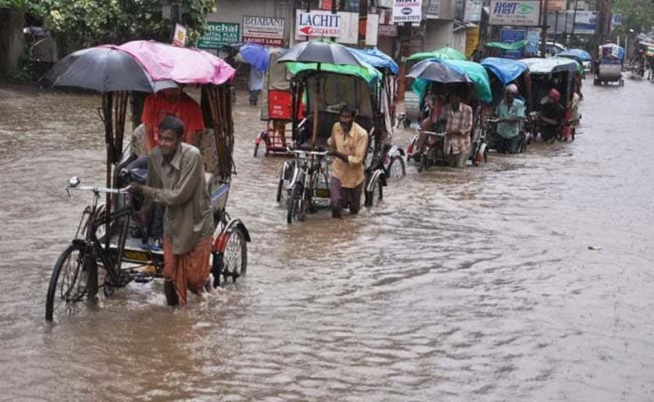 Heavy to very heavy rainfall to paralyze normal life in entire NE within next 5 days: IMD