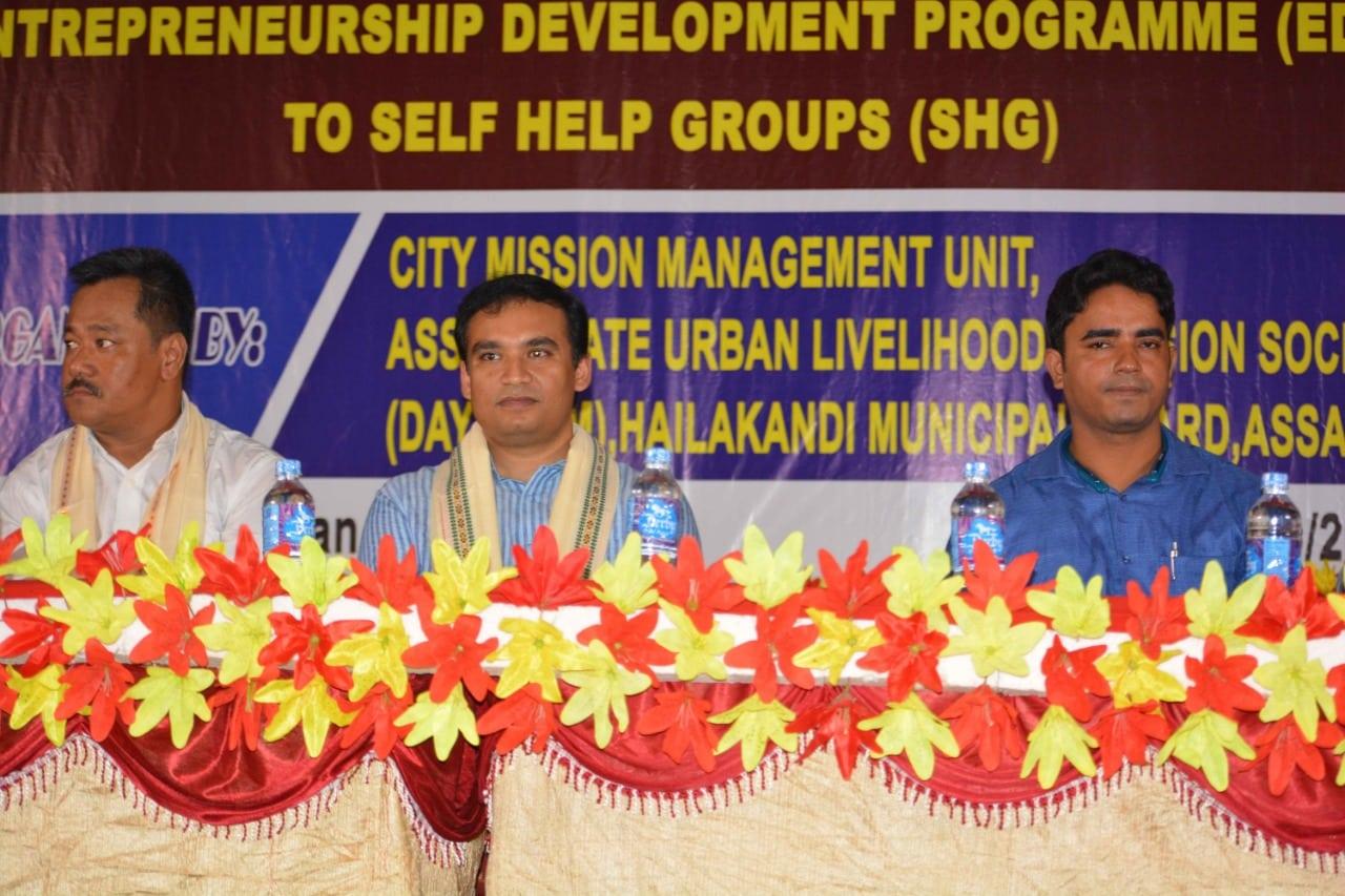 Workshop on Entrepreneurship Development Programme for Self Help Groups
