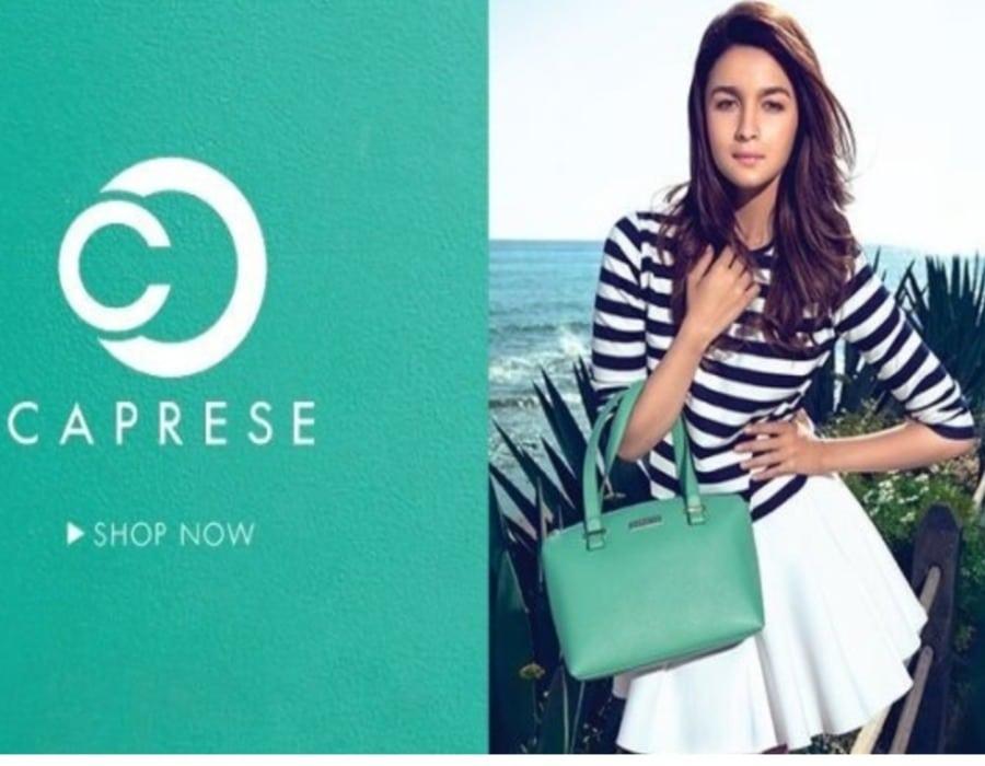 Accessory brand Caprese launches Alia's collection
