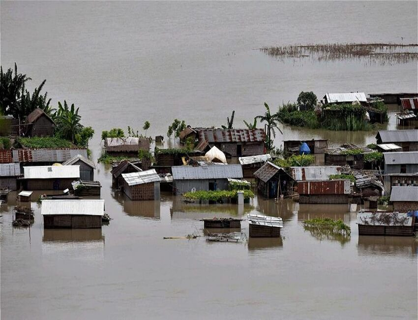 Flood Situation In Northeast Remains Grim; Arunachal, Assam, Meghalaya On High Alert