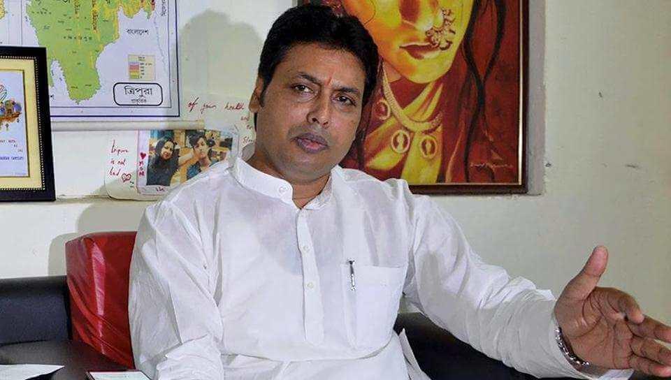 Tripura CM Biplab Deb calls Manik Sarkar most corrupt Chief Minister