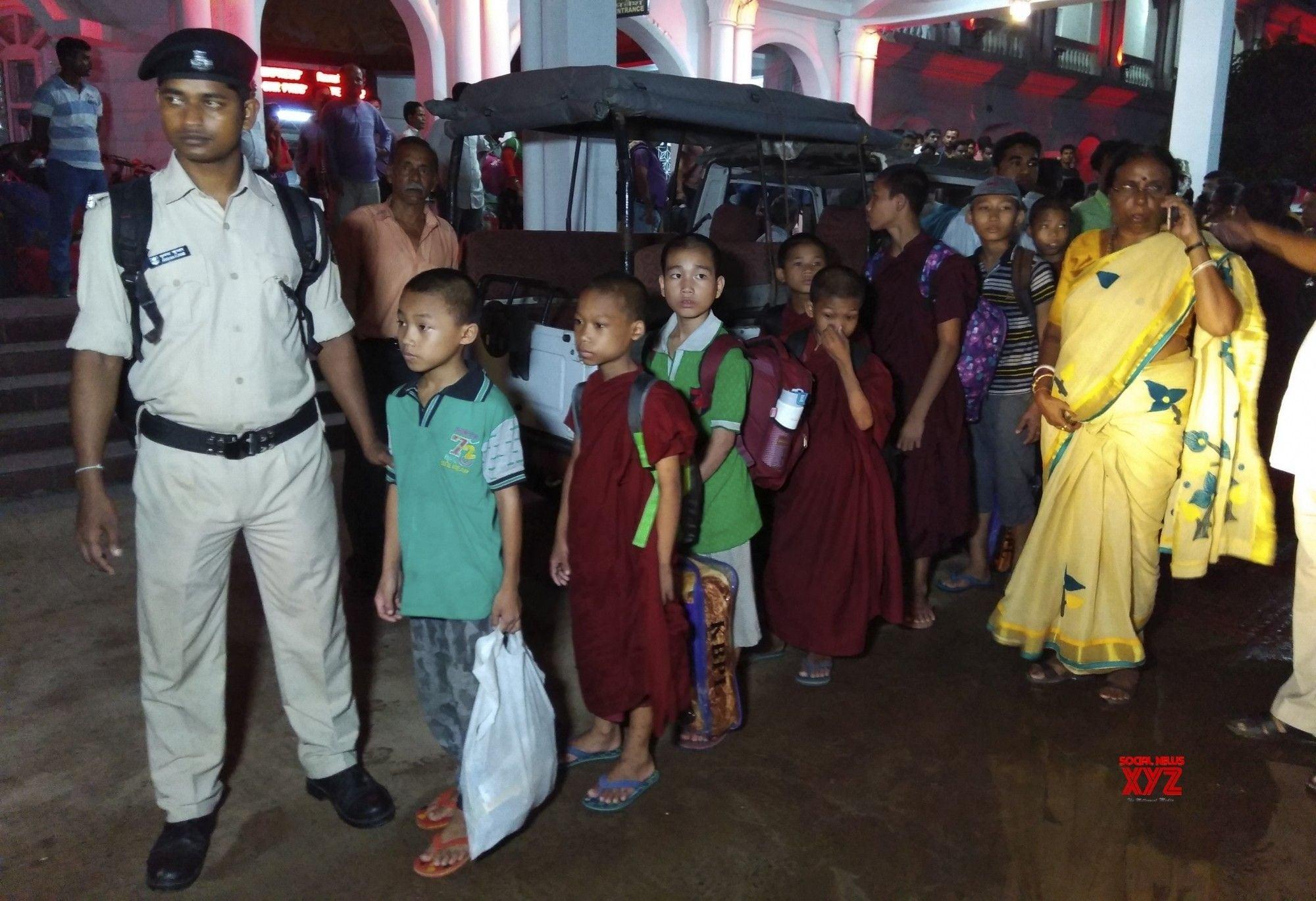 18 girls rescued from Bihar School Reach Tripura