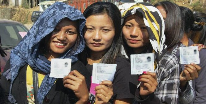 Mizoram Records Highest Female Voters in Comparison to its Male Voters
