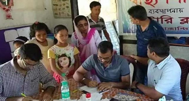 Health camp organized at Hailakandi