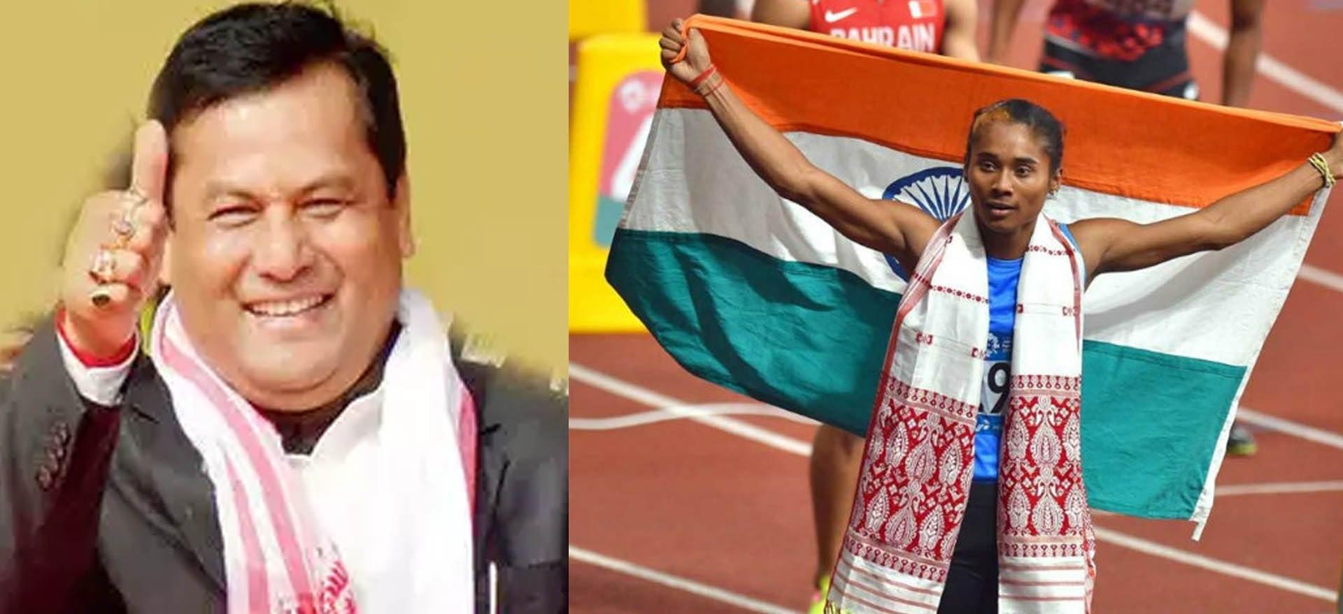 CM Sarbananda Sonowal Declares Sprinter Hima Das as State Ambassador of Assam