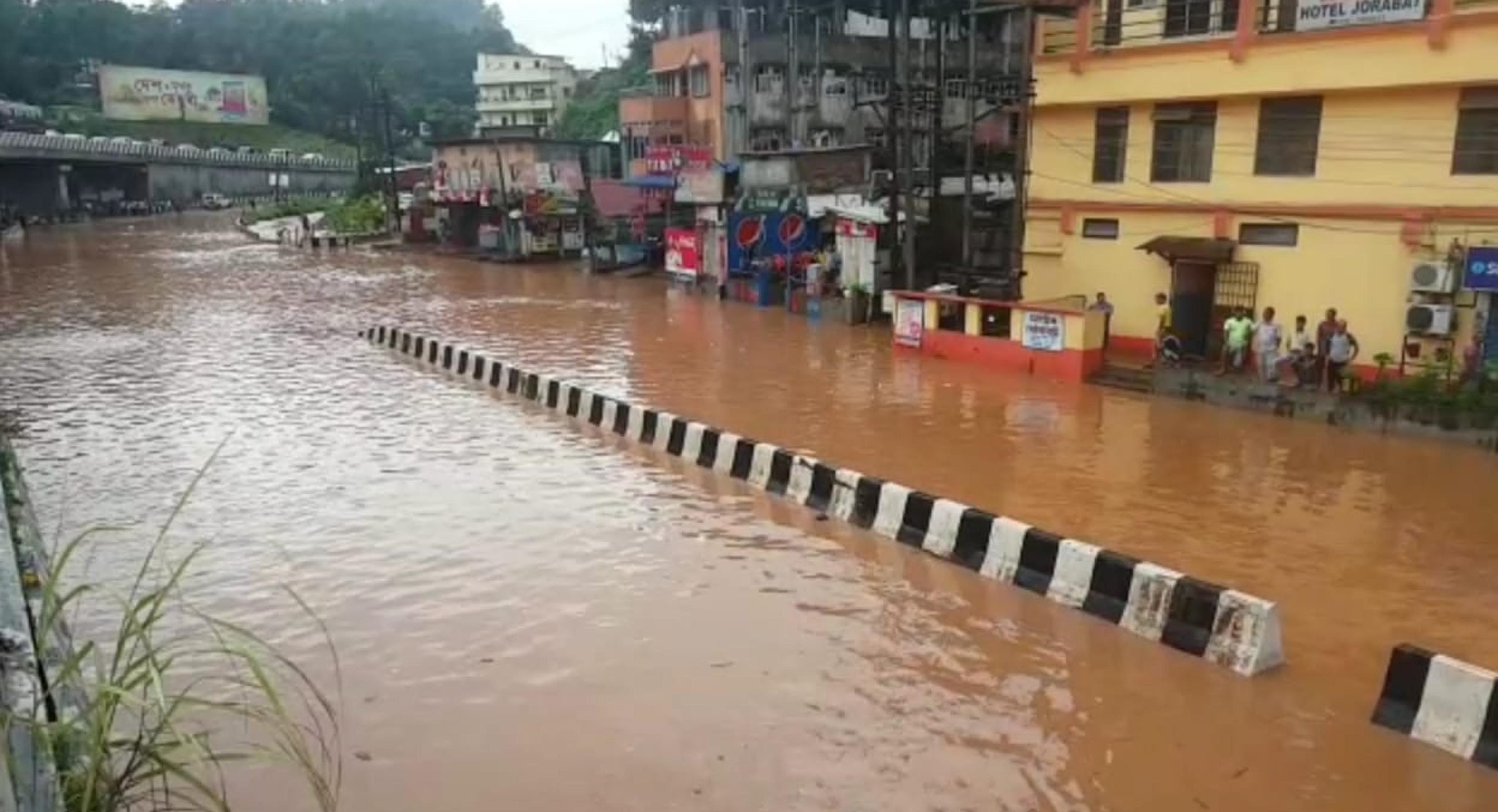 Flood situation improves, officials visit flood-affected areas in Sivasagar