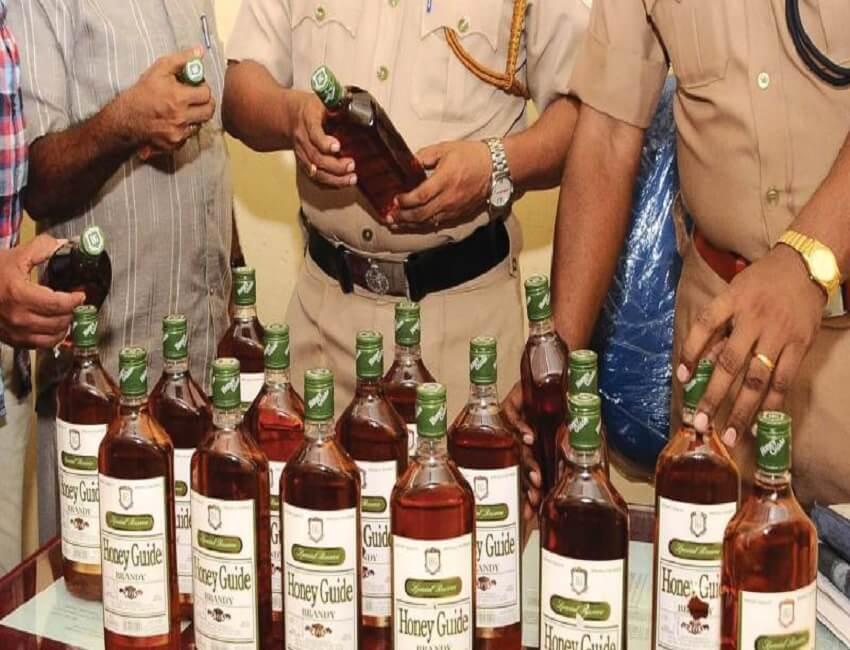 Drive against illicit liquor