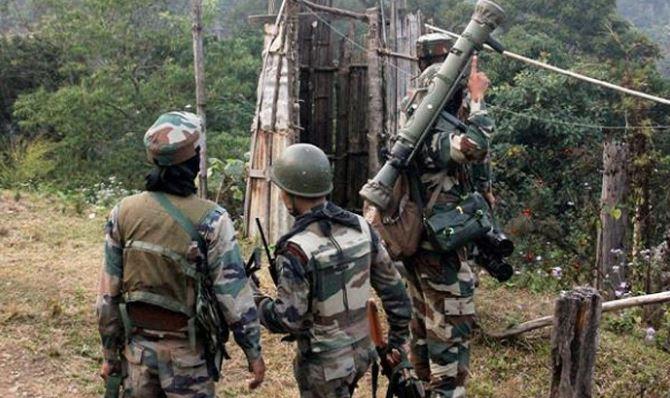 Assam Rifles ambushed in Manipur