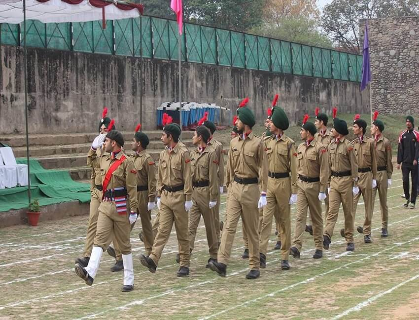 North East NCC inter-group competition organized at Umroi, Shillong