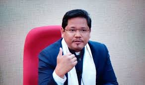 Never felt like interim CM: Conrad K Sangma