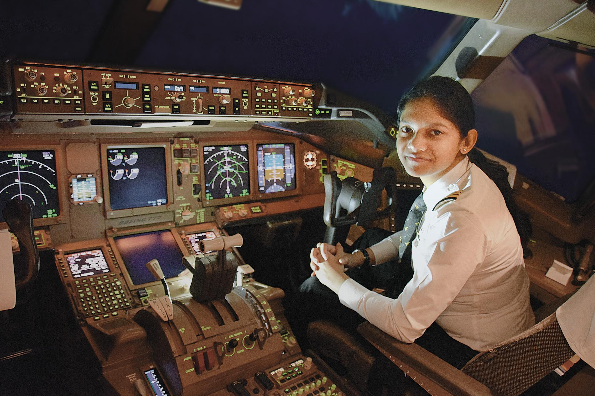 Female pilot: India stands high above global average