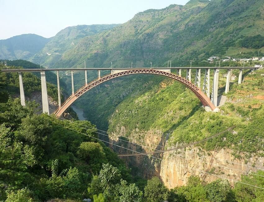 Jiribam-Imphal railway line: Tallest railway bridge at Manipur to be completed by 2020