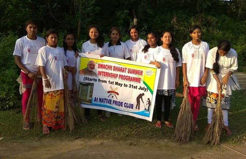 Swachh Bharat Summer internship held in Hailakandi