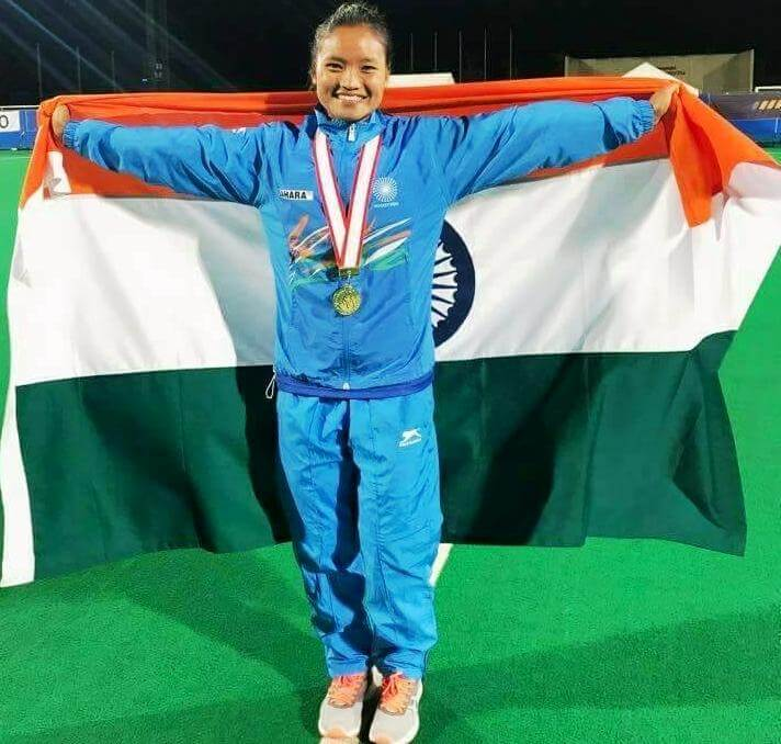 Cachar Girl Lalremsiami Hmar Hogs the Limelight in Hockey