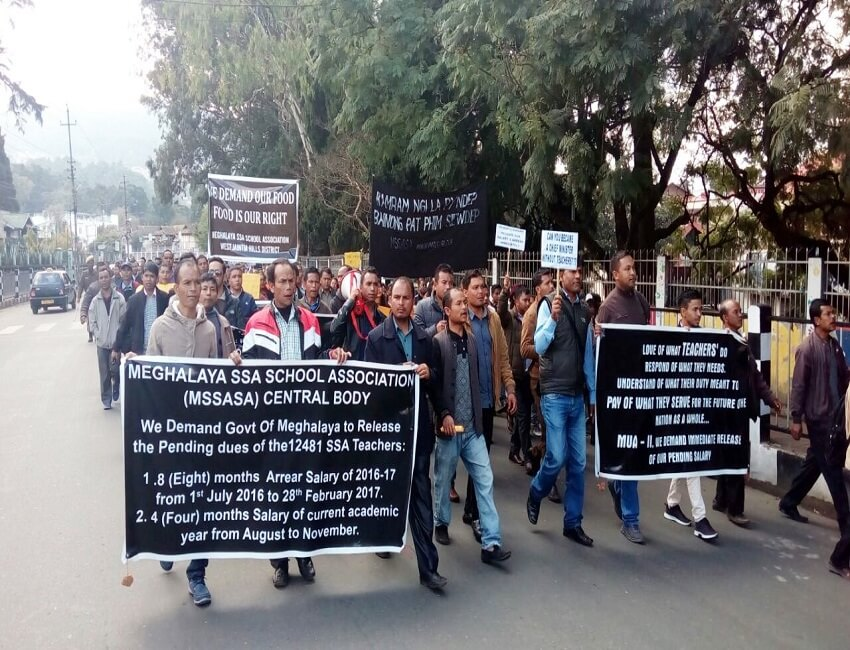 Meghalaya SSA School Association urges teachers not to take part in agitation