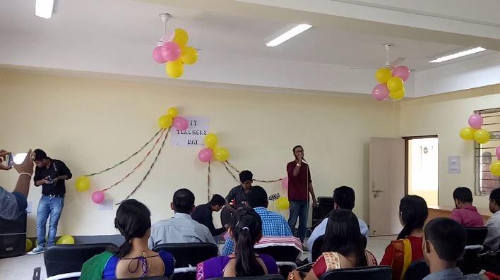 Teacher felicitated at Narsingh Higher Secondary School, Silchar