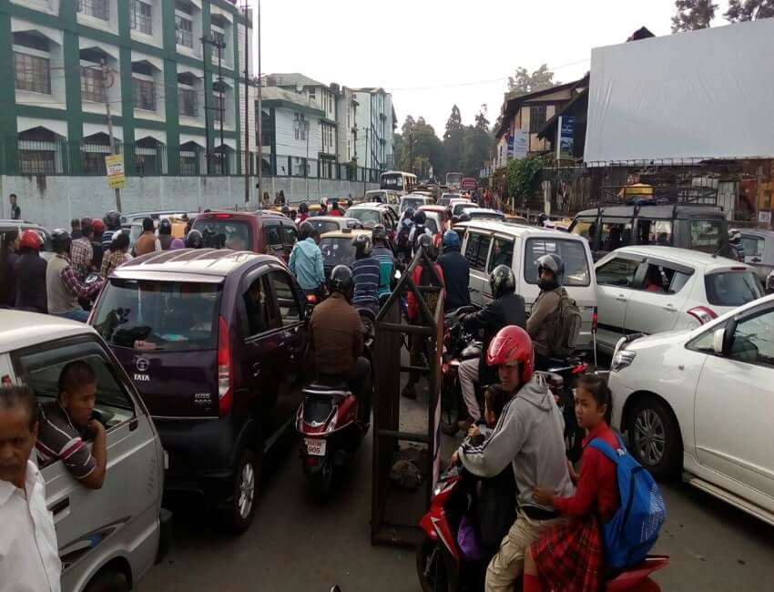 Citizens brainstorm on solutions to traffic jam in Shillong