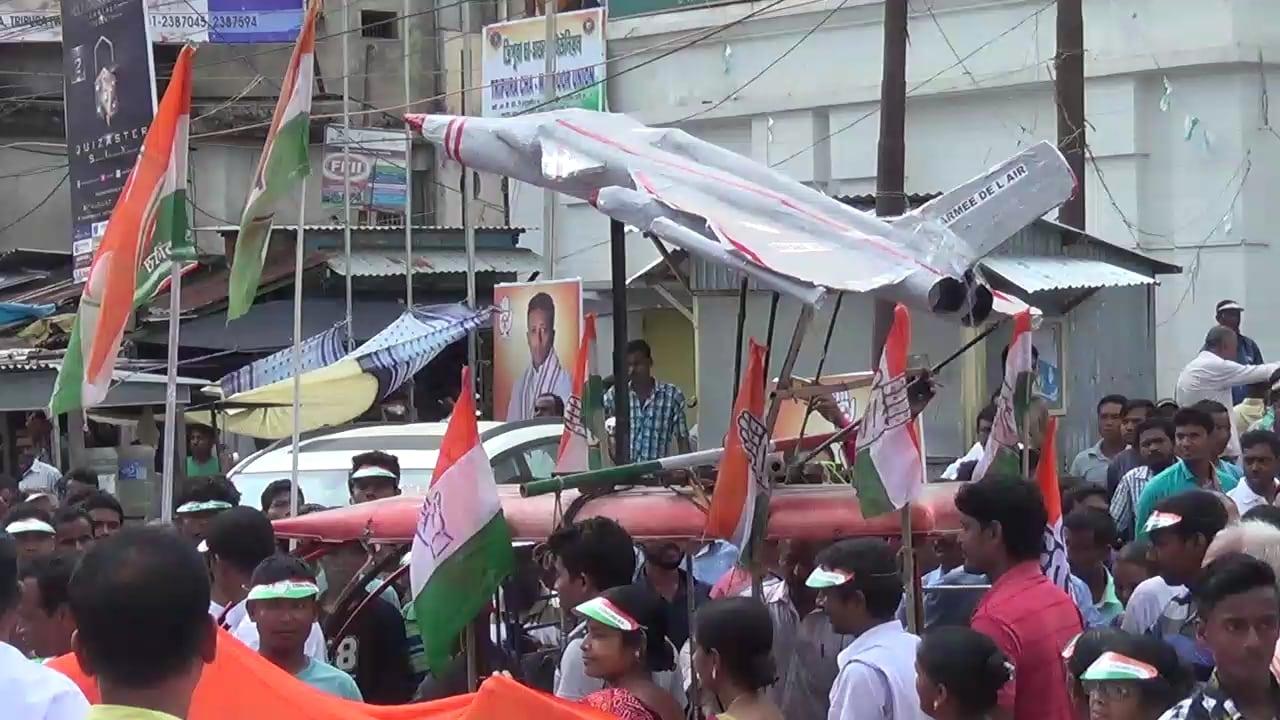 Rafale Deal Row: Tripura Congress Conducts Raj Bhawan Abhiyan Against Fighter Jet Deal Scam