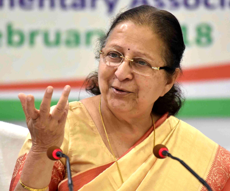 India, Croatia need to Engage More Purposely: Sumitra Mahajan