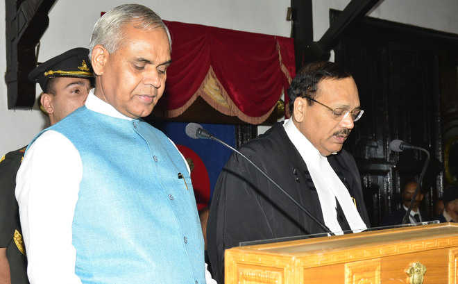 Justice Surya Kant Takes Oath as Himachal Chief Justice