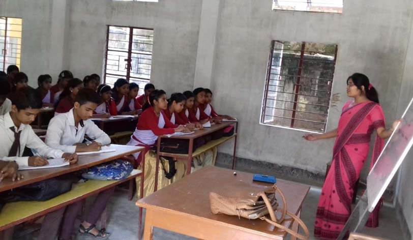 Abhyudaya - a pilot project to impart education with innovative ideas and technology