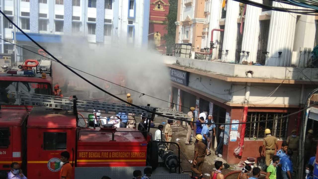 Fire at Calcutta Medical College, 250 Patients Evacuated