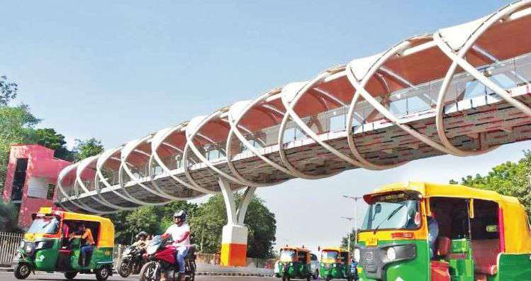 Aam Aadmi Party (AAP) Ministers Ignored for Flyover Opening
