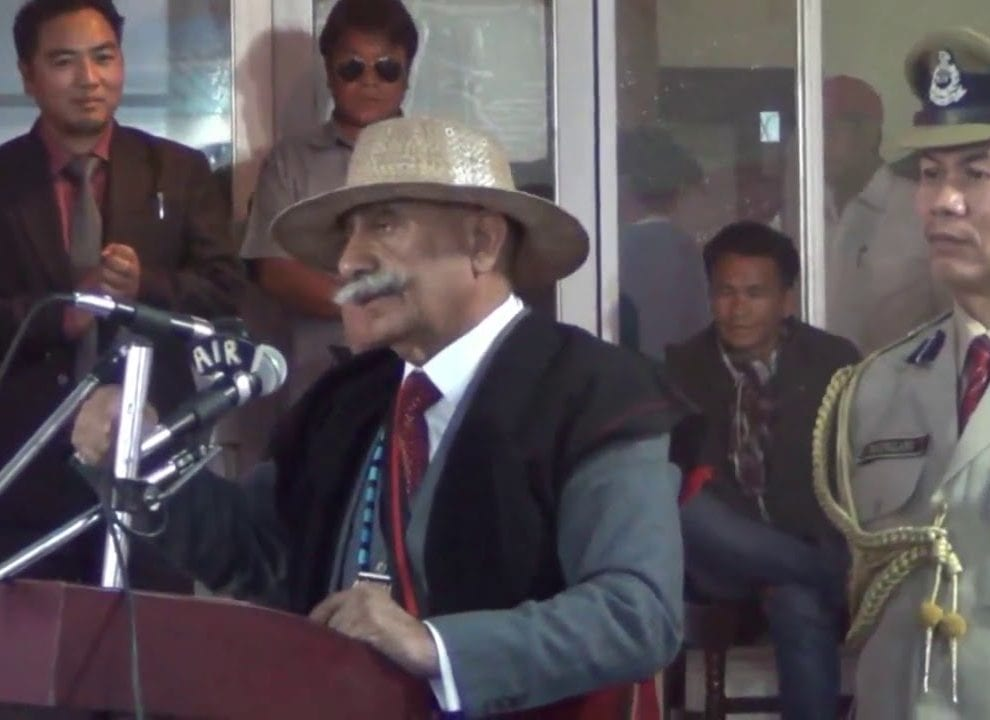 People are our priority:  Arunachal Pradesh Governor Brig (Retd) Dr B D Mishra
