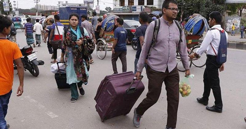48-Hour Transport Strike Cripples Bangladesh