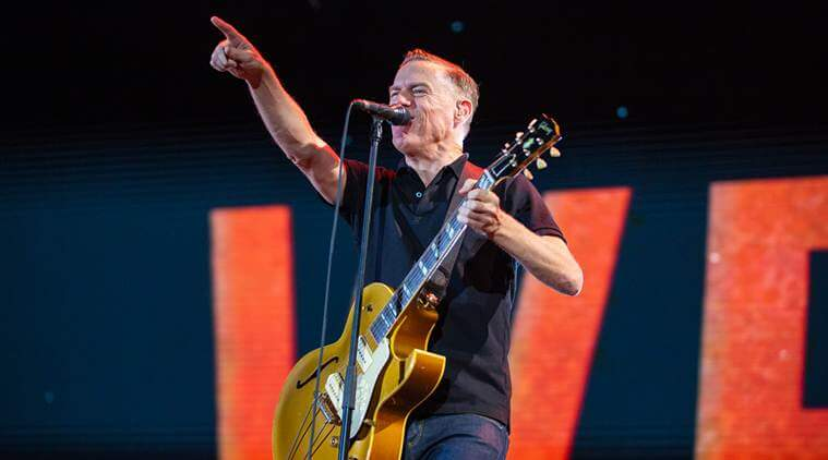 Bryan Adams wraps up biggest party in India