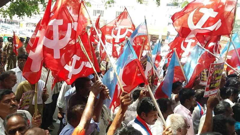 CPI Holds Rally Against Price Rise of Petrol, Commodities, and Electricity