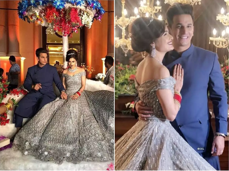 Want To Know How Long It Took For Her Perfect Wedding Gown? Here Yuvika Chaudhary Reveals About It