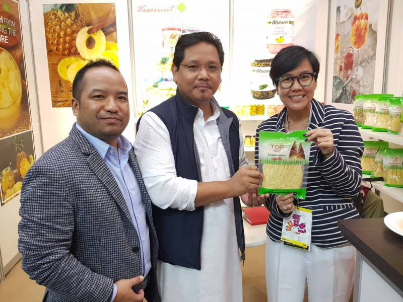 Looking at Options in Food Processing Technology: Conrad K. Sangma