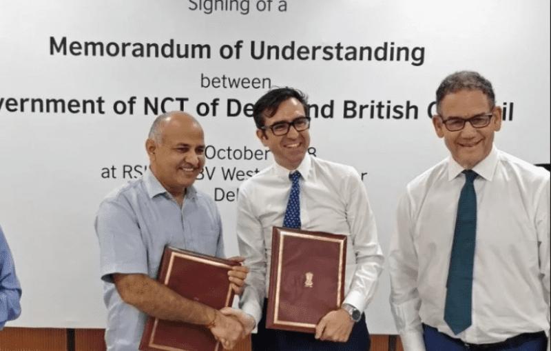 Delhi Government, British Council Sign MoU