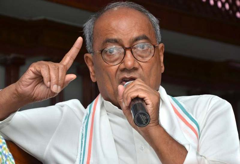 Congress Loses Votes When I Give Speeches: Digvijay Singh