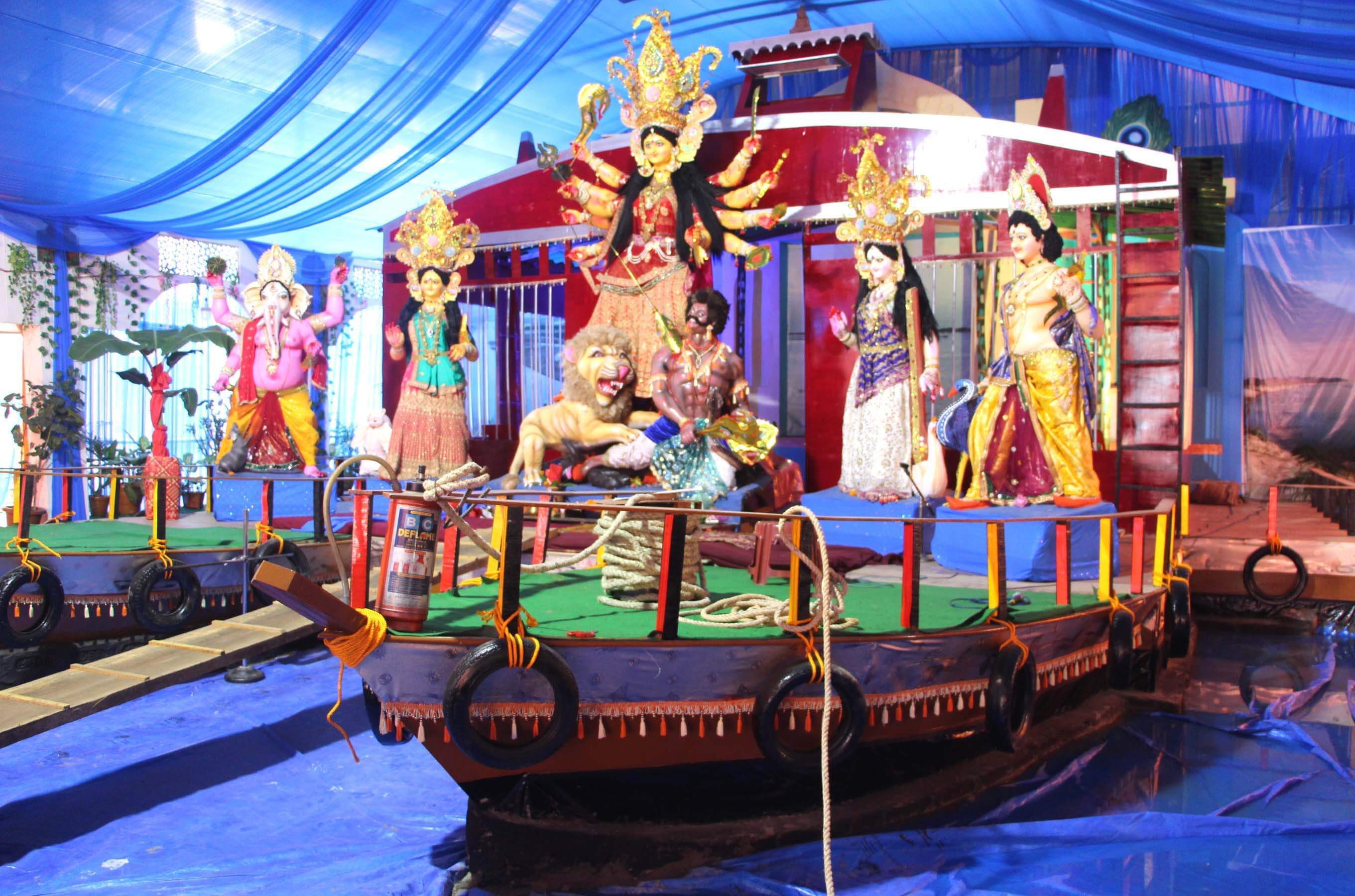 Silchar: Durga Puja begins on a high-and-happy note