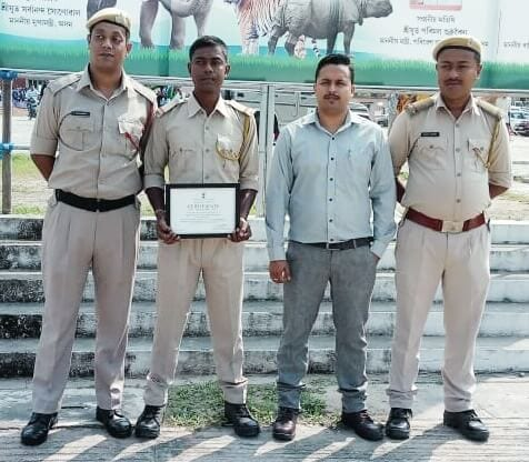 Gallantry Award to Four Forest Men