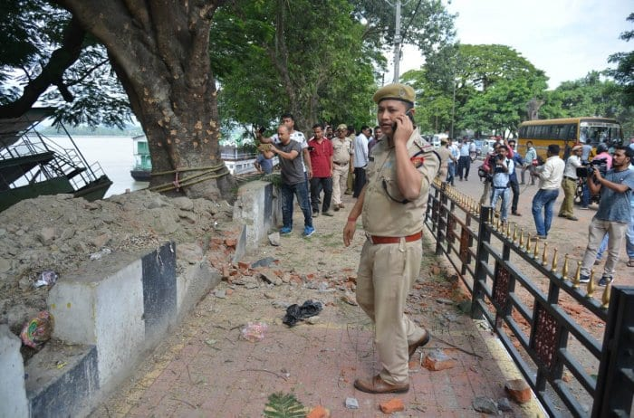 Police Grills Woman in Connection with the Fancy Bazar Blast, Released