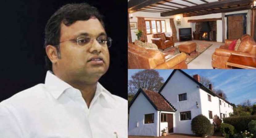 Enforcement Directorate Attaches Karti's Properties in India, Abroad