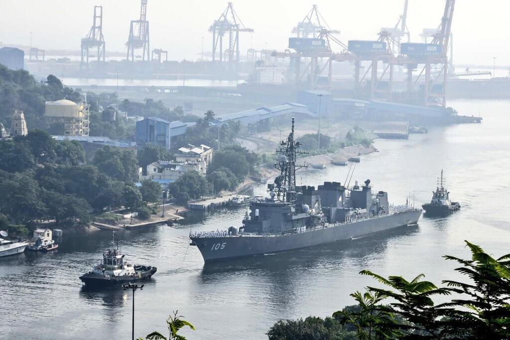 India-Japan Maritime Exercise Commences at Visakhapatnam
