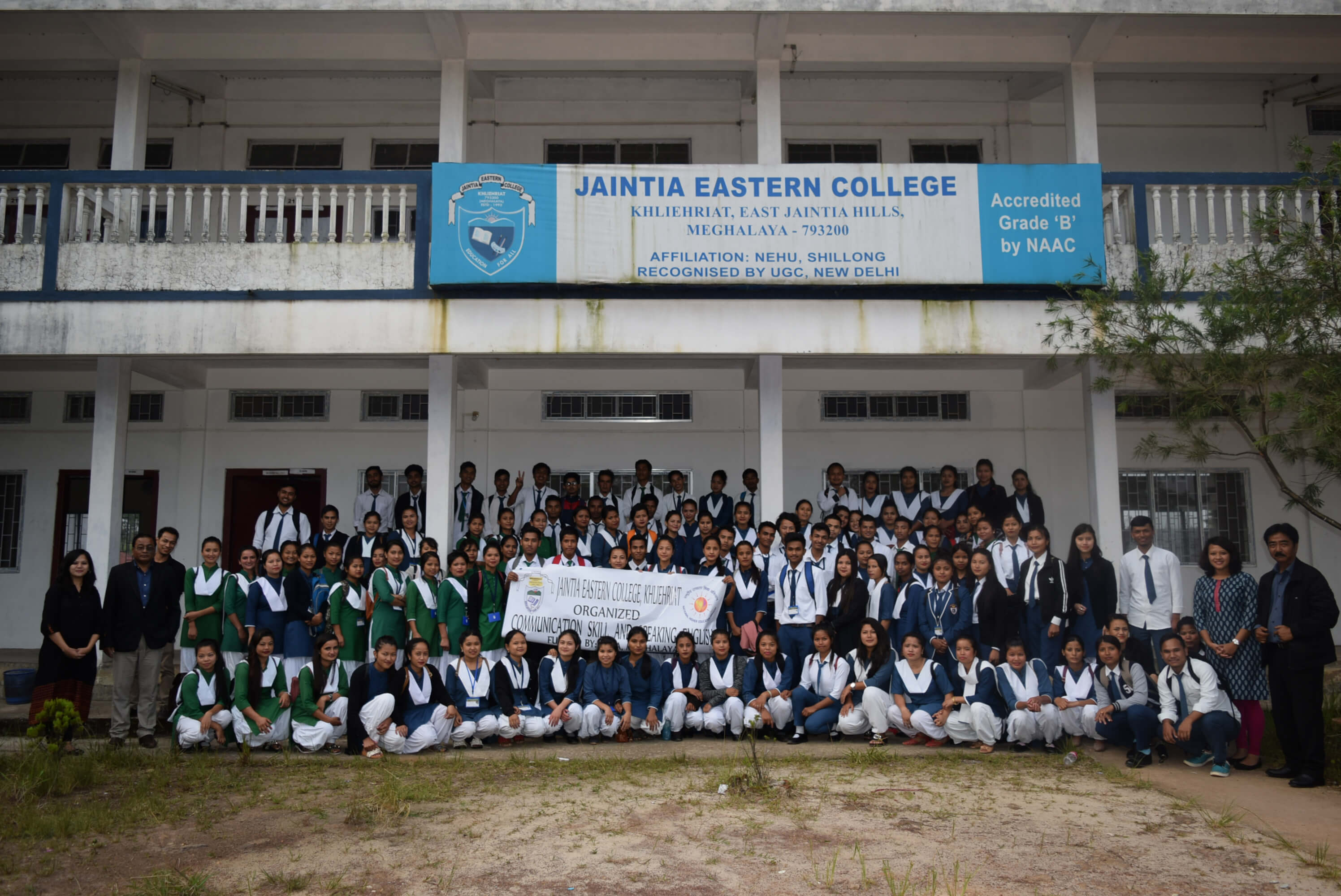 Rashtriya Uchchatar Shiksha Abhiyan Communication Skills Session Held in Jaintia Eastern College