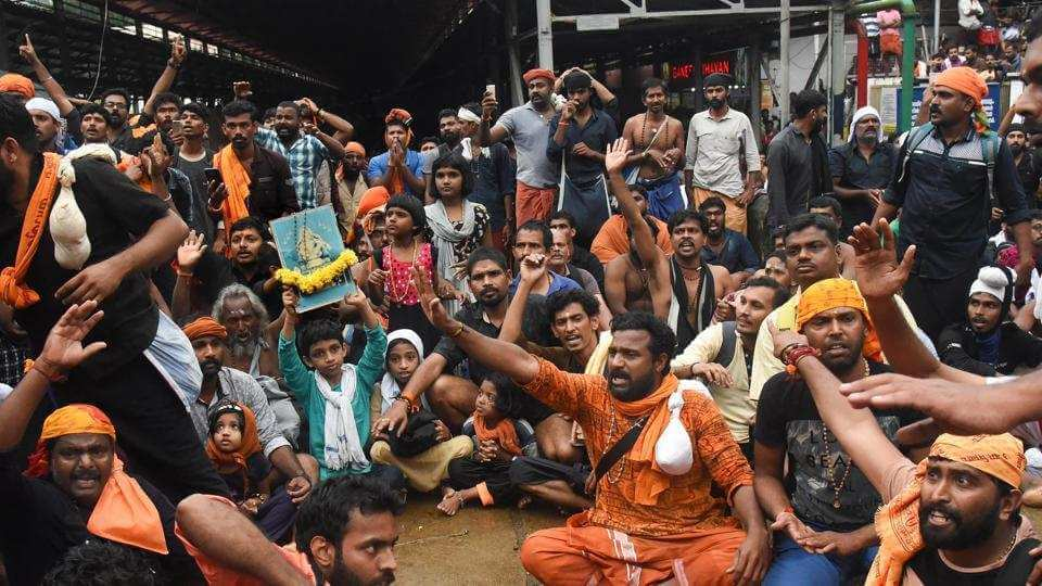 Kerala cracks down on Sabarimala protesters