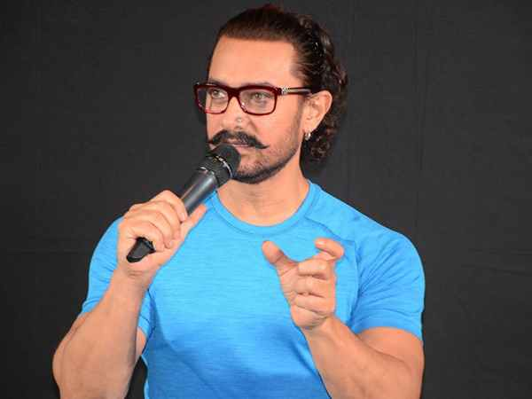 Actor Aamir Khan steps away from film