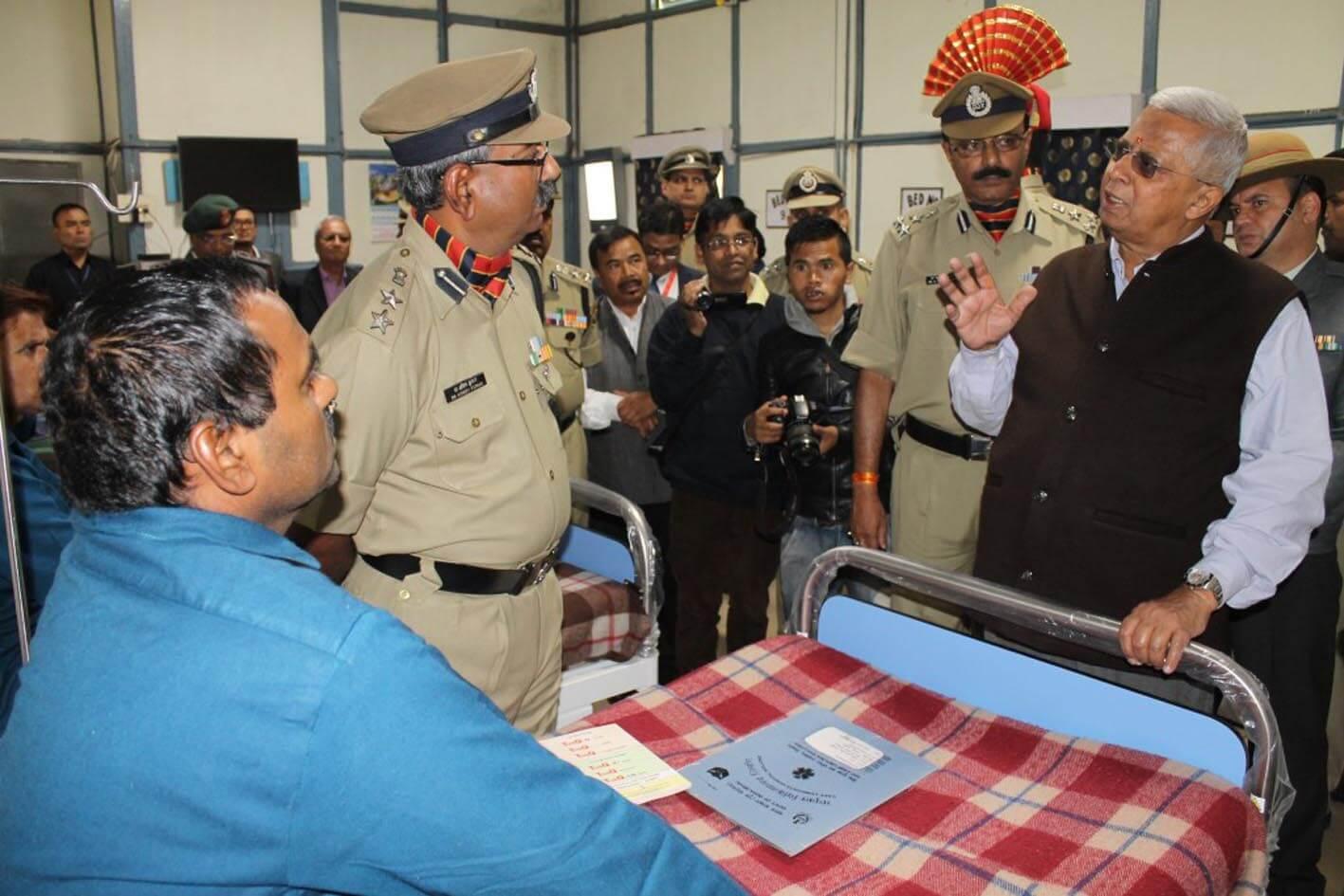 Meghalaya Governor hands over ambulance
