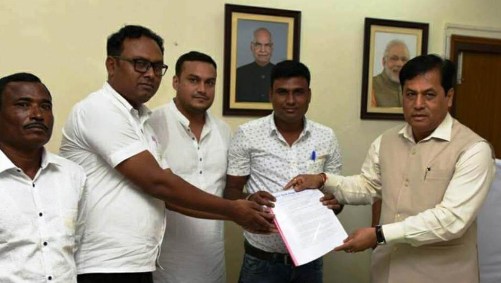SBBDC demands bridge at Silghat, submits memo to CM Sarbananda Sonowal