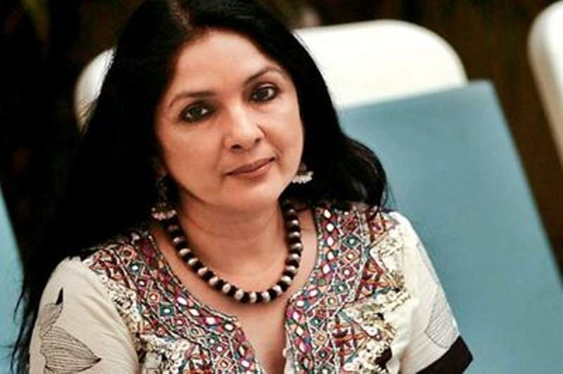 Unable to call tailor, Neena Gupta sews home curtains