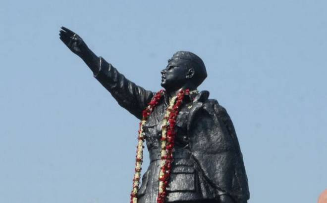 Move to Construct Statue on Railway Land Close to National Highway-37 Opposed